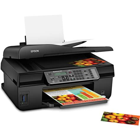 Printer Epson All In One Epson Workforce 435 All In One Color Inkjet Printer C11cb45201