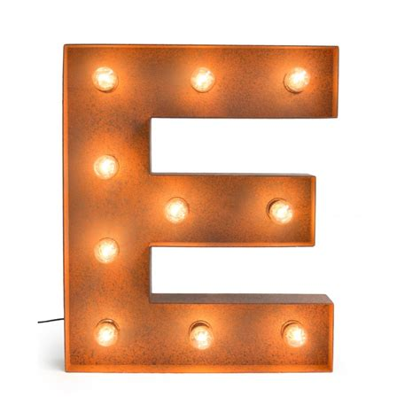 L With Light by Letter E With Light Bulb Reallynicethings