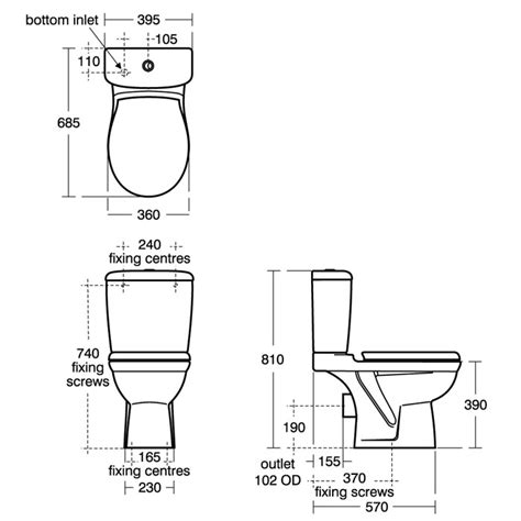 size of toilet standard toilet measurements go search for tips