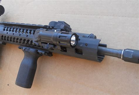 ar 15 tac light dr range report inforce wml weapon mounted light