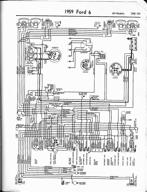 57 ford truck lights wiring wiring diagram with