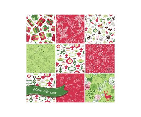 christmas patterns retro retro christmas patterns buy vector pack full of vintage