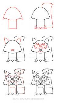 websites where you can draw how to draw a raccoon