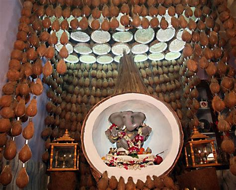 creative decorations for home creative ganpati decoration ideas for home the royale