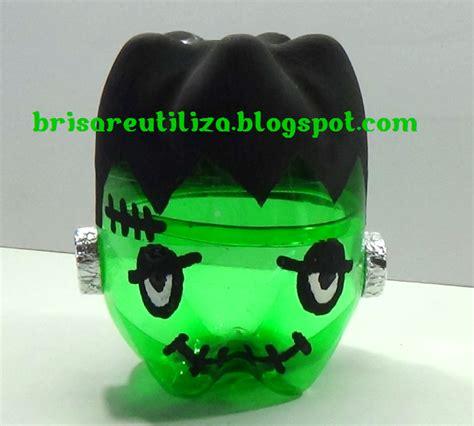 imagenes de halloween reciclables ecobrisa diy octubre 2014