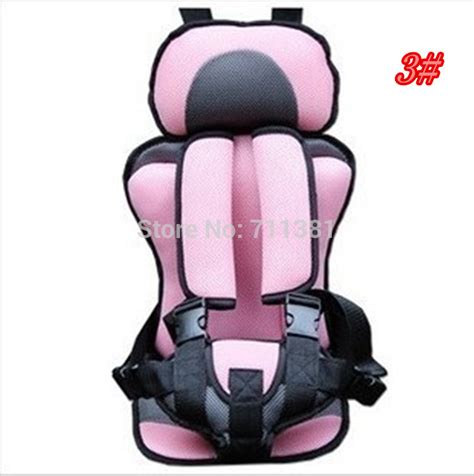 portable child car seat cushion sale 5colors portable baby child car safety booster