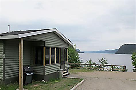 lac walker  chalet reserve faunique de port cartier