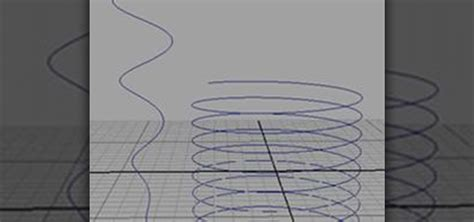download pattern shaped curve how to create a helix shaped nurbs curve in maya 171 maya