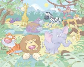 Walltastic Baby Room Wallpaper Jungle Xxl Decovista