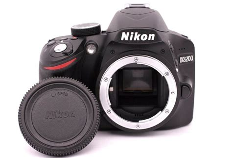 nikon d d3200 24 2mp digital slr black only shutter count 832 18208254903 ebay