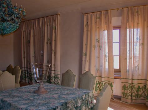 tende da sala da pranzo tende sala da pranzo decorazione pittorica di interni
