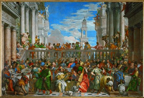 Wedding At Cana Venice by The Politics Of Representation Paolo Veronese Benedetto
