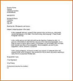 9 how to write a formal letter format lease template