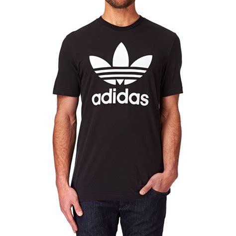 Adidas T Shirt Tshirt Black adidas originals original trefoil t shirt black free
