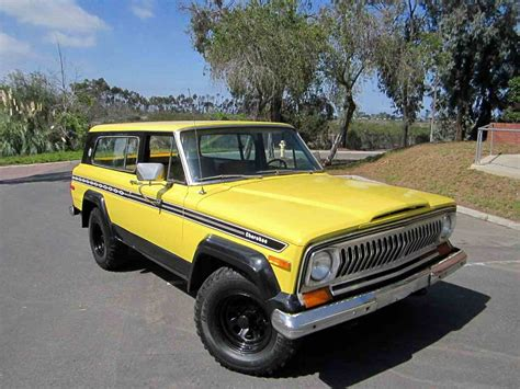 jeep chief 1977 jeep chief for sale classiccars com cc