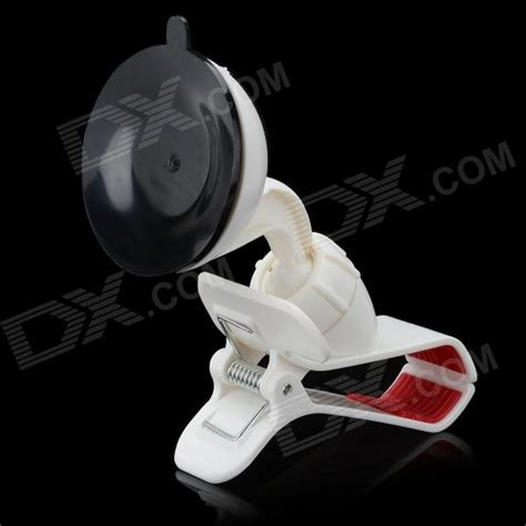 Car Suction Cup Smartphone Holder Mount White 3cx1l7 olecranon style car mount holder w suction cup for mp4 gps cell phone pda white