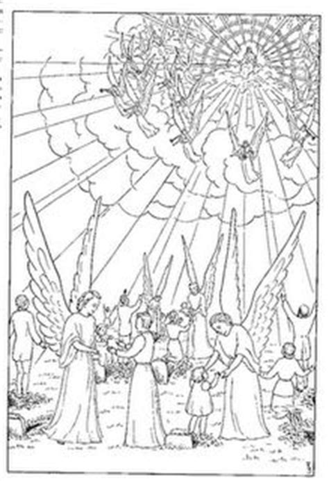 coloring pages jesus goes to heaven 1000 images about christian time of the end on