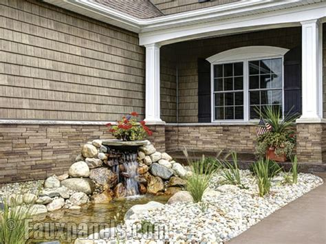 how to install stone siding on a house manufactured stone siding panels that don t require stone masons or specialty