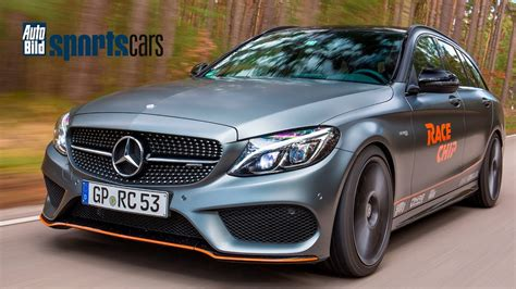 Auto Bild Sportscars Mercedes Amg by Racechip Mercedes Amg C43 Chiptuning Topspeed Review