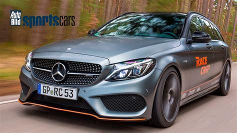 Auto Bild Sportscars Racechip racechip mercedes amg c43 chiptuning topspeed review