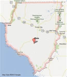 dixie county florida map dixie county florida map
