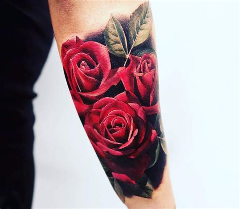 rose tattoo sleeve for men feed your ink addiction with 50 of the most beautiful