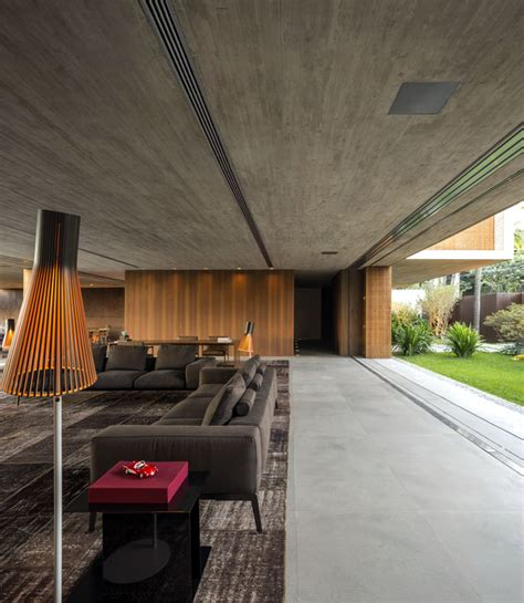 house p minimalist p house made of concrete and wood interiorzine