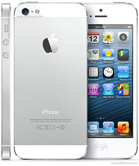 Apple iPhone 5 pictures, official photos