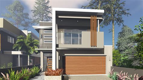 narrow block house designs melbourne blueprint designs small lot house design to suit a 10 0