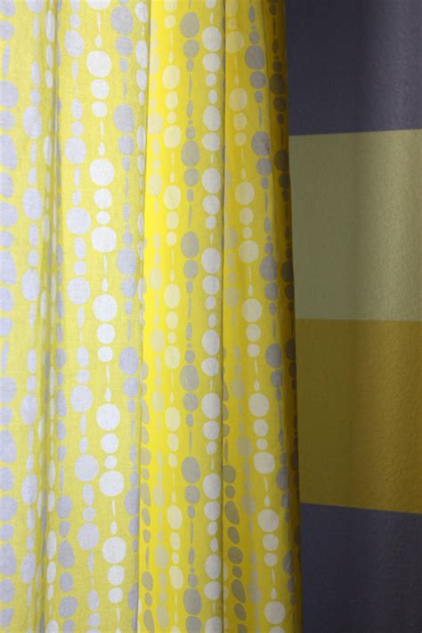 Eric S Gray And Yellow Modern Nursery Project Nursery Yellow And Grey Nursery Curtains