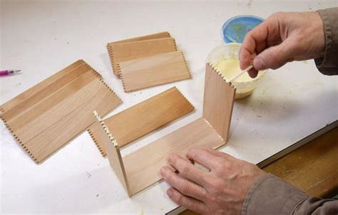 making small box joined boxes