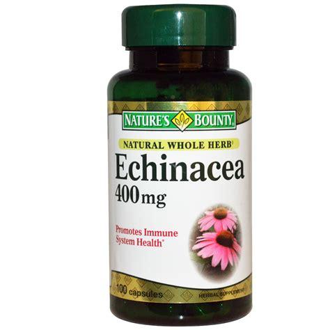 Vitamin C 500 Echinacea Naturs Bounty nature s bounty echinacea 400 mg 100 capsules iherb