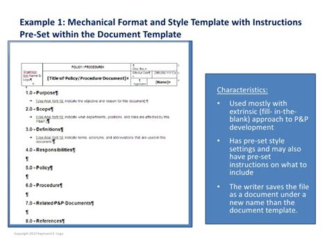 desktop procedures template are you tempted to use a template to expedite policies