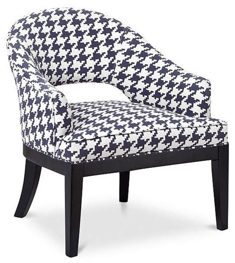 Houndstooth Accent Chair fabric houndstooth accent chair