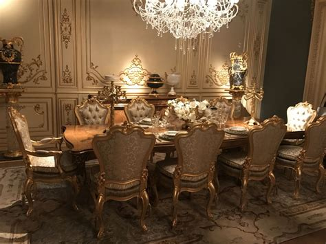 how to fashion a sumptuous dining room using majestic purple details make the difference in baroque rococo style furniture