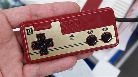 nintendo releasing mini famicom in the famicom mini controller pads are made for ants general news from vooks