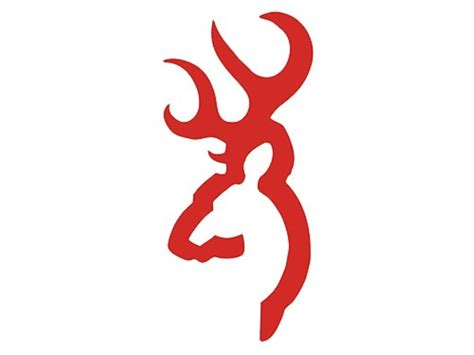 browning buck mark decal 4 red mpn 3922007114