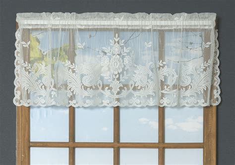 lace curtains irish irish point lace valance thecurtainshop com