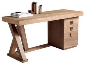 Modern Desk With Hutch Modern Desk With Lightly Distressed Driftwood Finish Modern Desks And Hutches By Artefac