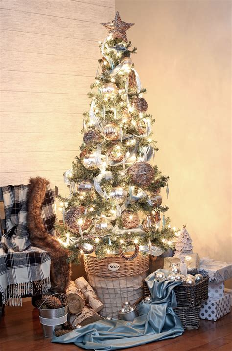 wicker christmas decor rustic glam tree fynes designs fynes designs