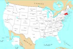 Massachusetts On Map by Where Is Massachusetts Located Mapsof Net