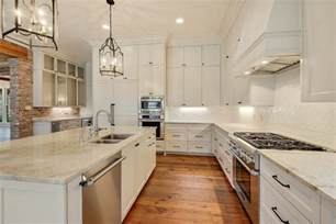 baton traditional custom home white marble