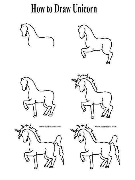 unicorn step by step best 25 how to draw unicorn ideas on unicorn