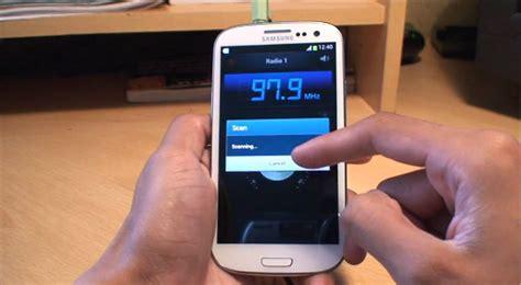 Hp Samsung Fm Radio samsung galaxy s3 radio app siii i9300
