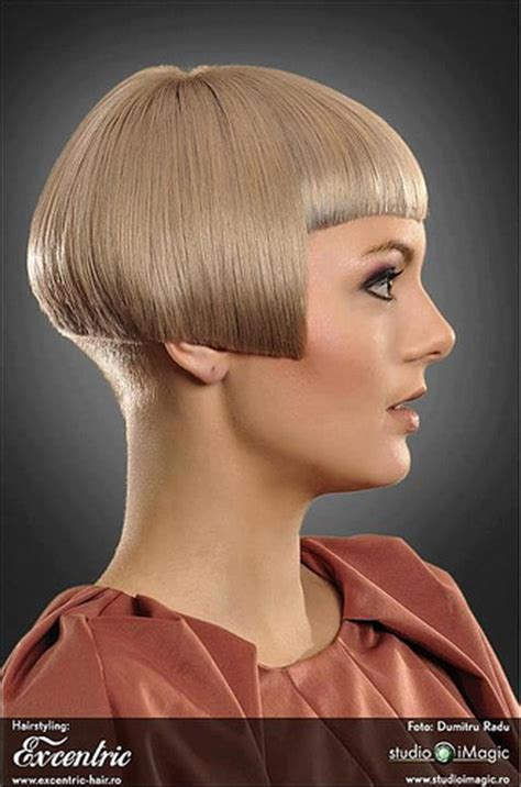 bobbed haircut with shingled npae bobs with shingled napes short bob with buzzed nape the