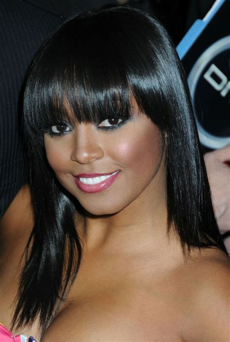 hairstyles with bangs black hair 26 sexy black weave hairstyles creativefan