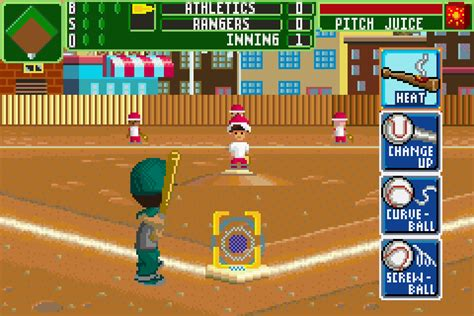 Backyard Baseball Backyard Baseball 2007 Boy Advance 2017