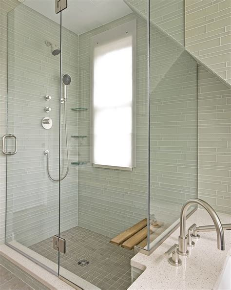 Bathroom Wall Covering Ideas by Pretty Shower Window Treatment