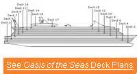 Oasis Of The Seas Floor Plan by Royal Caribbean Oasis Of The Seas Royal Caribbean Oasis