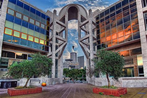 Mba Center Tel Aviv by Tel Aviv Performing Arts Center Photograph By Ronsho